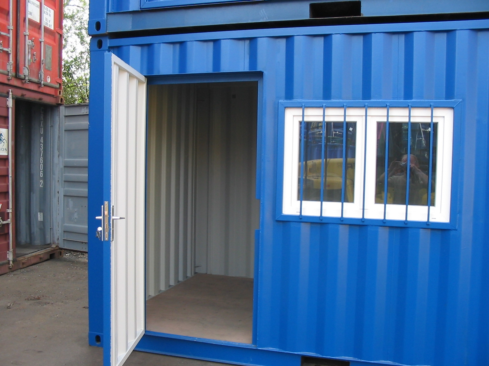 Container bureau de chantier containers vente occasion for Vente maison container